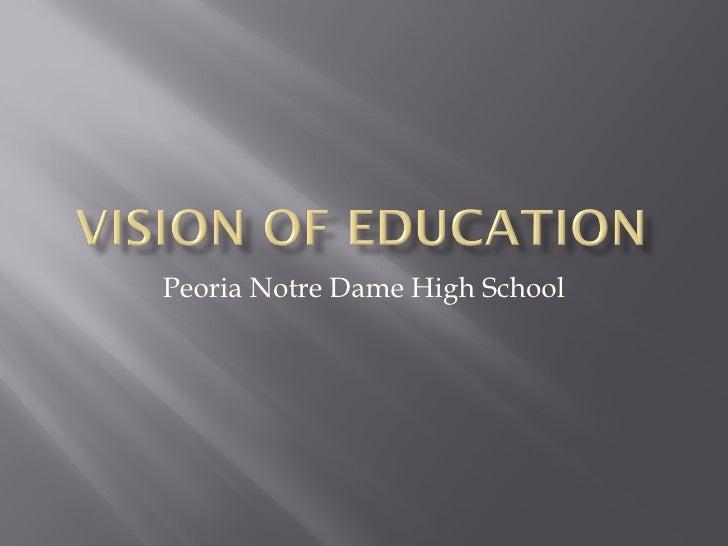 Peoria Notre Dame High School