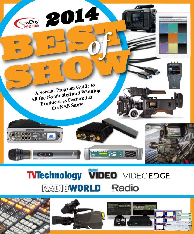 Visionary Solutions PackeTV IPTV System TV Technology NAB 2014 Best of Show Award