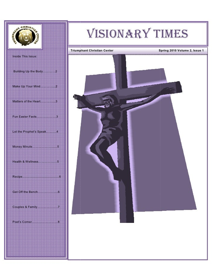 Visionary Times Spring 2010