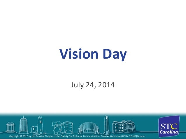 STC Carolina Chapter Vision Day 2014