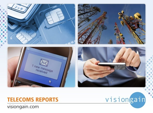 Visiongain telecoms report catalogue sp