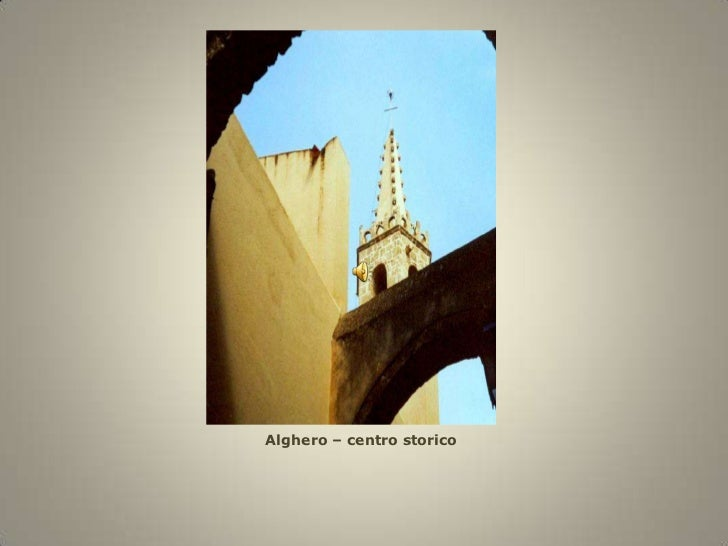 Alghero – centrostorico<br />