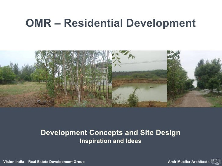 OMR – Residential Development Inspiration and Ideas Vision India – Real Estate Development Group Amir Mueller Architects D...