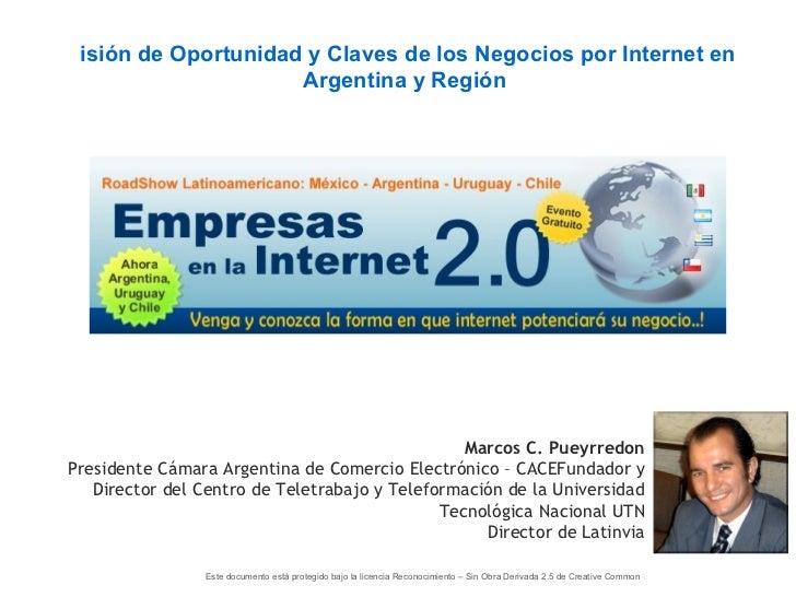 Vision Oportunidad del Comercio Electronico en Argentina y la Region