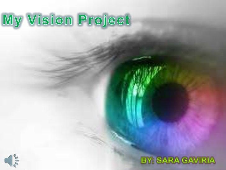 Vision project Sara Gaviria stsu 1100-003