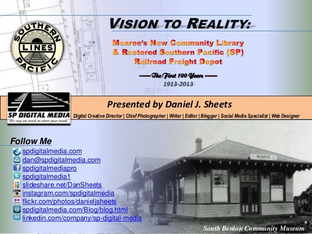 Presented by Daniel J. Sheets Digital Creative Director | Chief Photographer | Writer | Editor | Blogger | Social Media Sp...