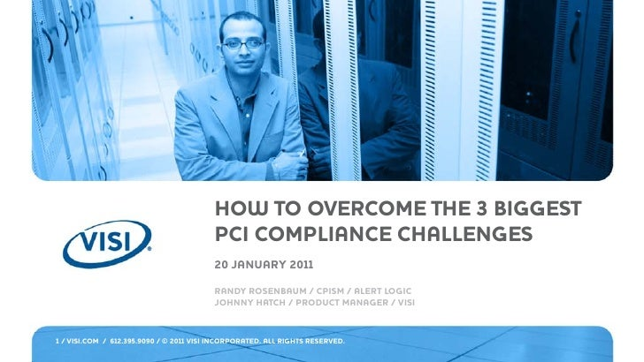 HOW TO OVERCOME THE 3 BIGGEST                                         PCI COMPLIANCE CHALLENGES                           ...