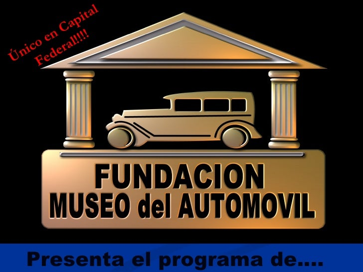 Presenta el programa de…. Único en Capital Federal!!!!