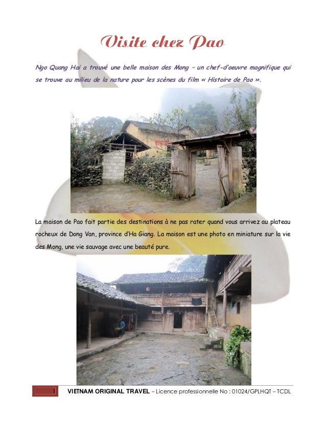 Visite chez Pao Ngo Quang Hai a trouvé une belle maison des Mong – un chef-d'oeuvre magnifique qui se trouve au milieu de ...