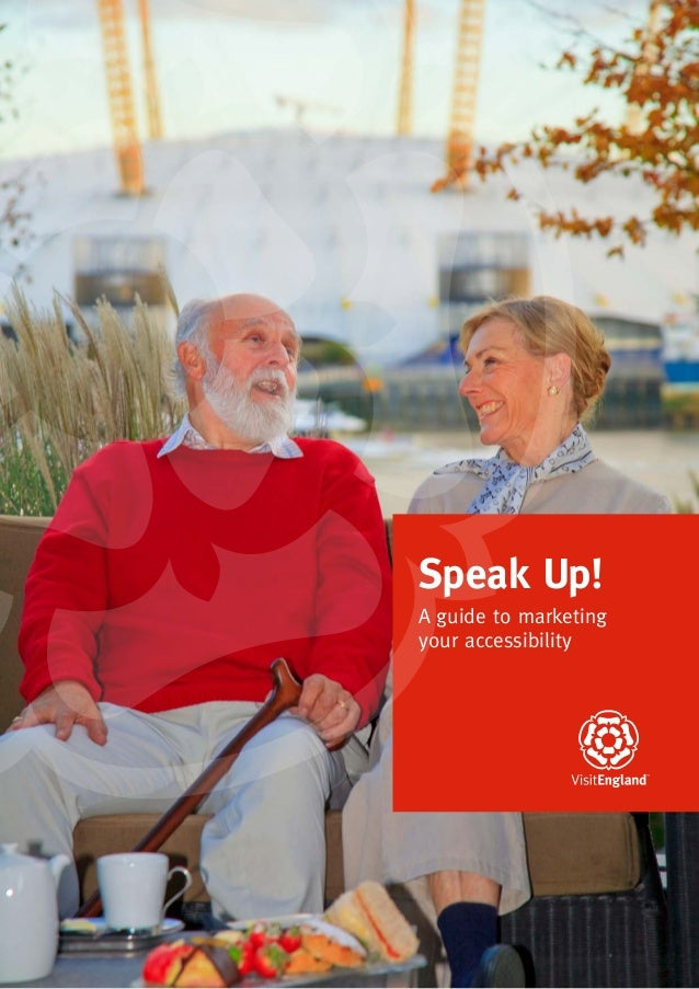 1A guide to marketingyour accessibilitySpeak Up!