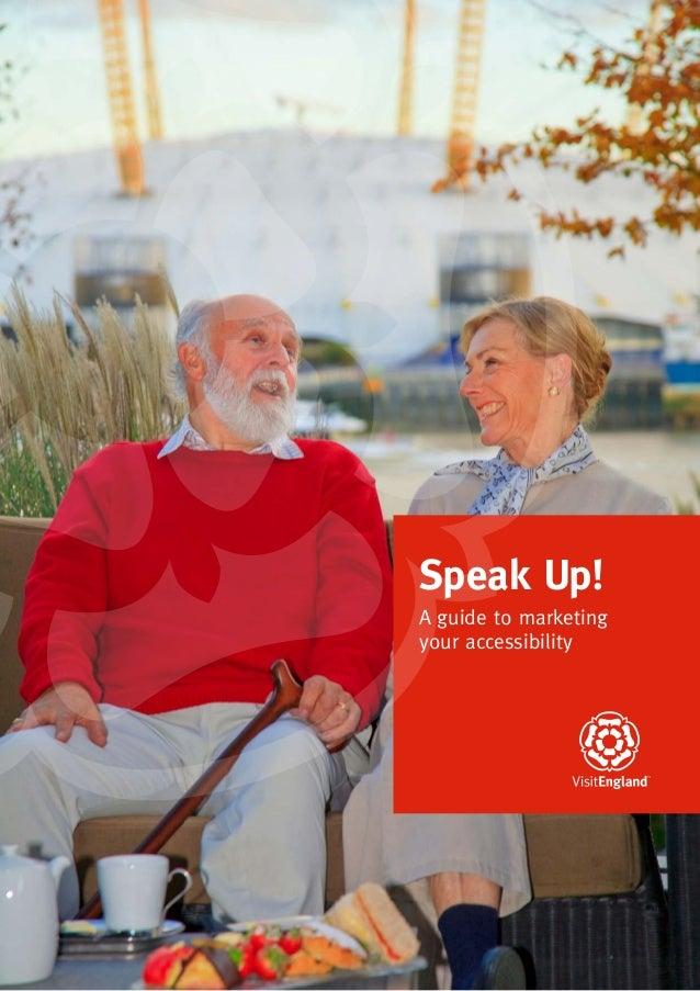 Visit england speakup