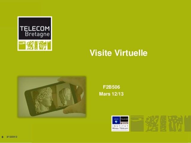 Visite Virtuelle                                            F2B506                                           Mars 12/130  ...