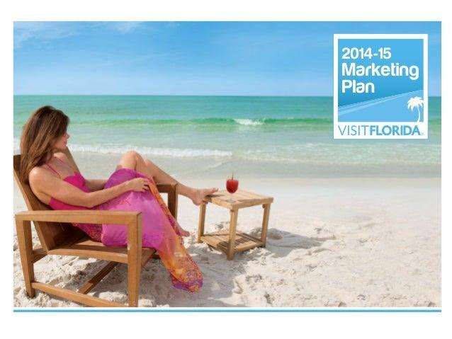 Visit Florida 2014-2015 Marketing Plan