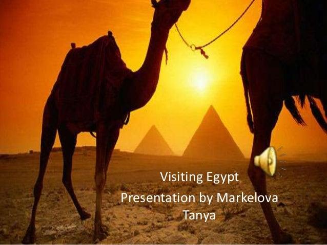 Visiting Egypt. Маркелова Т. 9а