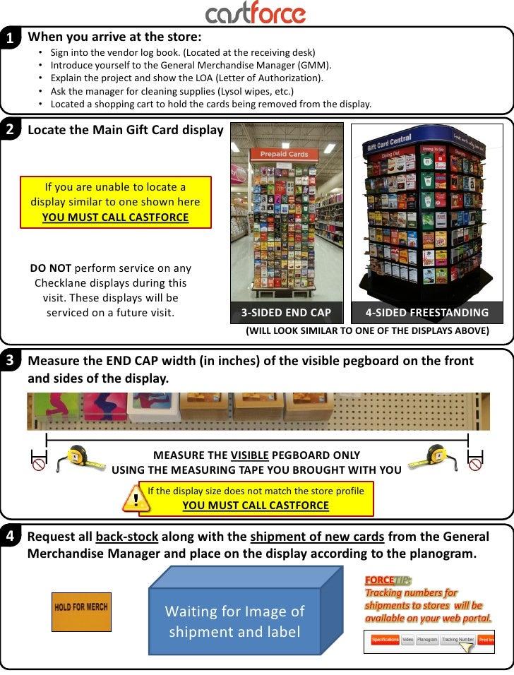 Visit instructions
