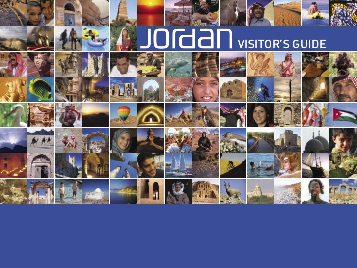 Jordan Visitors Brochure By JTB