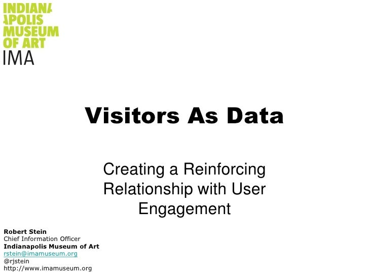 Visitors As Data