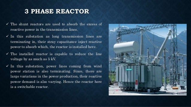 Image gallery substation reactor for Substation design pdf