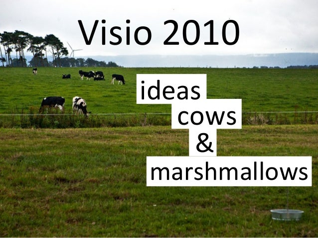 Visio 2010 ideas cows & marshmallows