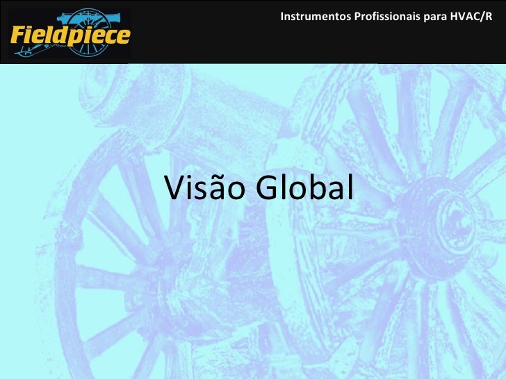 Instrumentos  Profissionais para HVAC/R Visão Global
