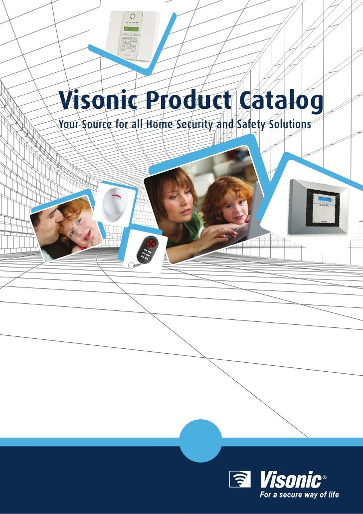 Visonic Product CatalogYour Source for all Home Security and Safety Solutions