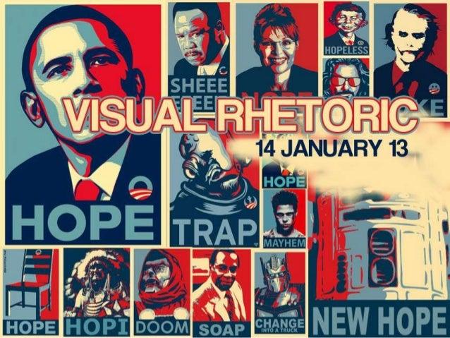 Visual Rhetoric, January 15th, 2013