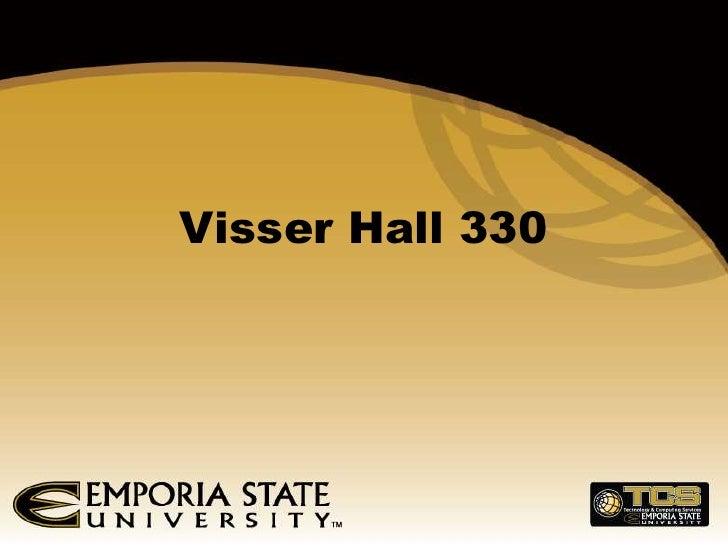 Visser Hall 330<br />