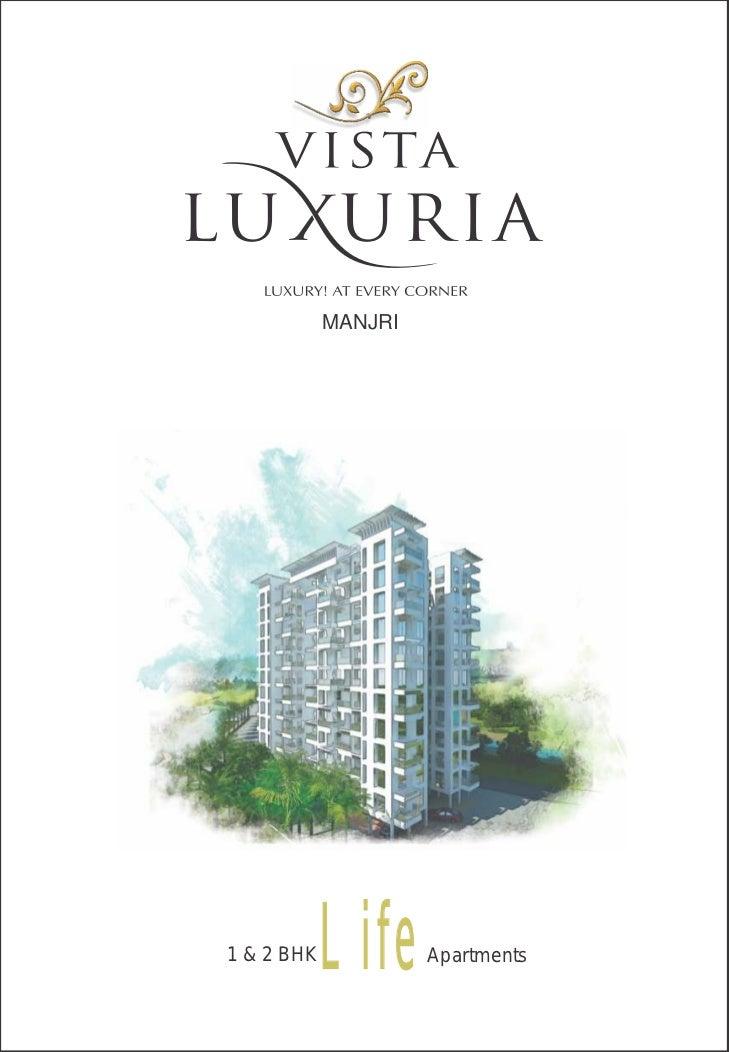 Vista Luxuria, Hadapsar - 1 & 2 BHK apartments at Pune