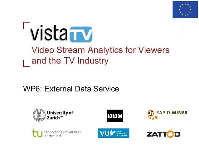 ViSTA-TV Workpackage 6: External Data Service for Metadata Enrichment & Novel TV Recommendations