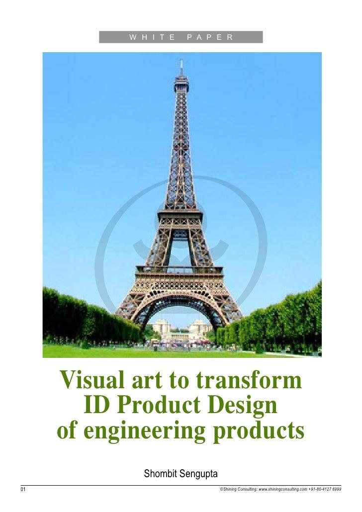 Visual art-transform-engg-products