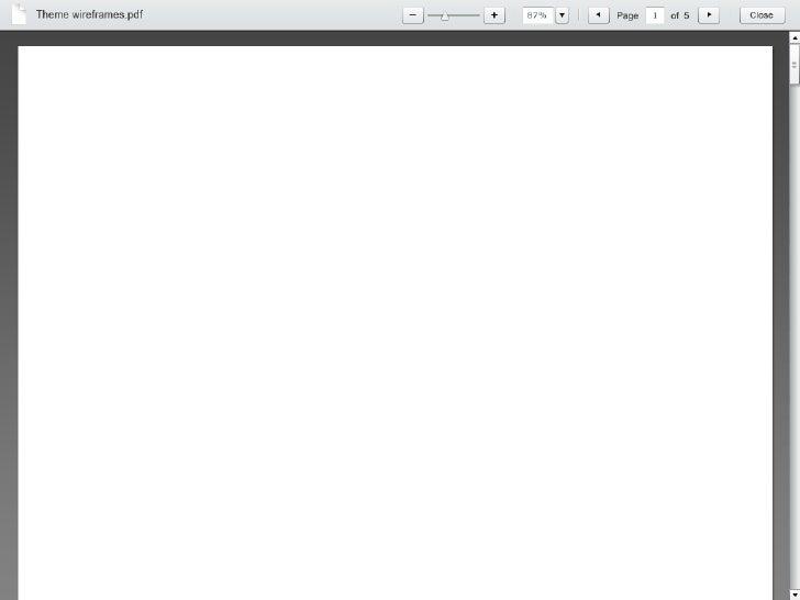 Visual Design - Flash Previewer (Fullscreen)