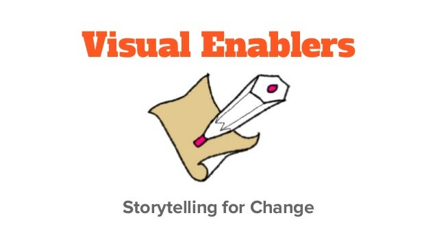 Visual Enablers Storytelling for Change