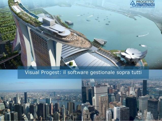 Software Gestionale: Visual Progest