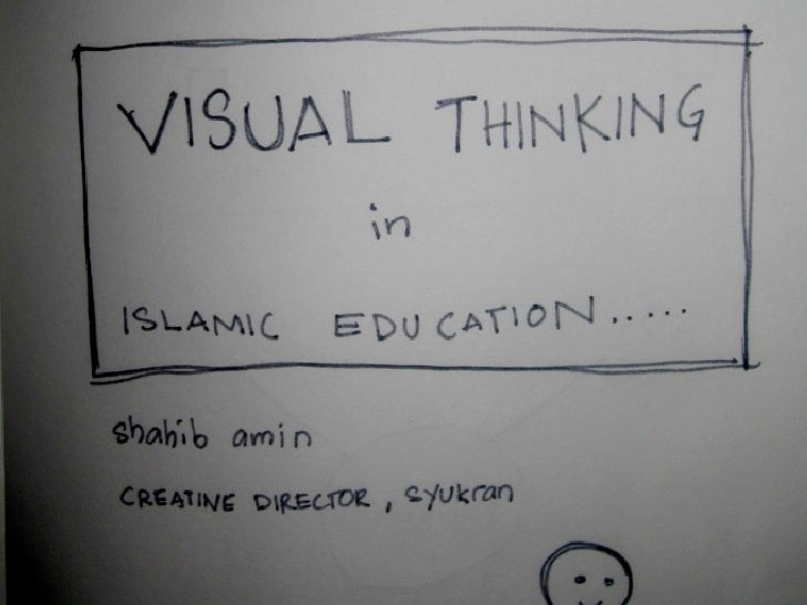 Visual Thinking for Islamic Education