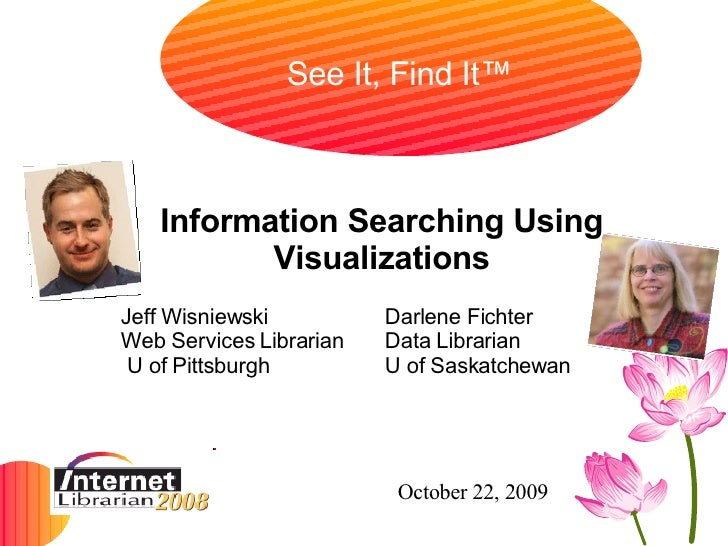 Information Searching Using Visualizations - IL 2008
