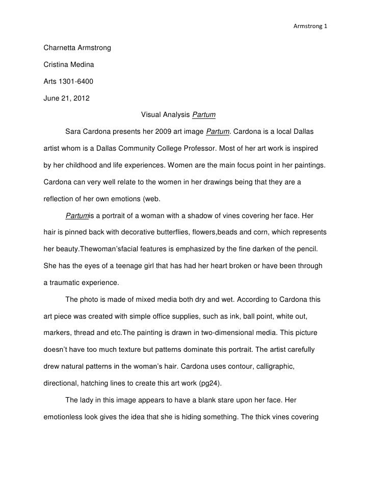 how to write analytical essay format