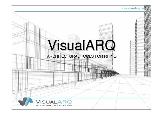 VisualARQ (Español), software de modelado arquitectónico