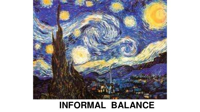 Visual Balance In Art : Visual art principle