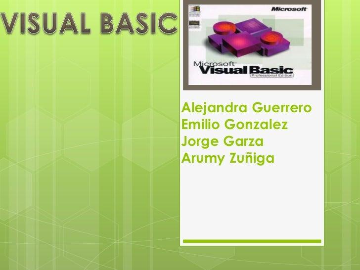 Alejandra GuerreroEmilio GonzalezJorge GarzaArumy Zuñiga