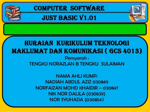 Computer software  -------------------------------------------------------------------------------------------------      ...