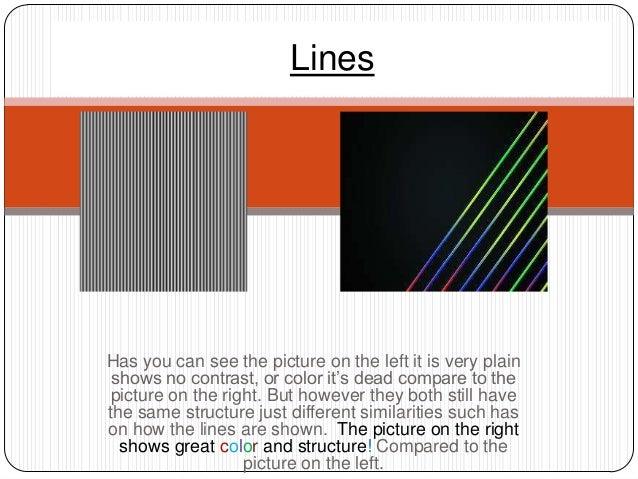 Visual composition slideshow