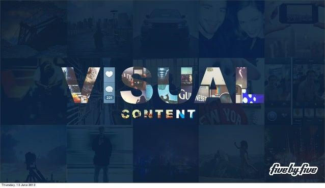 Visual Content Breakfast Seminar - June 2013