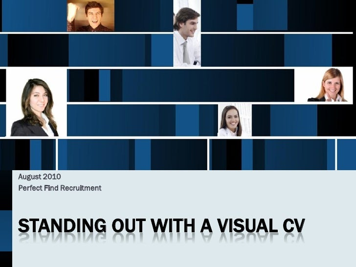 Stand out with a VisualCV