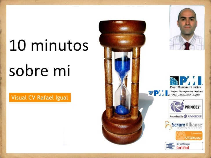 10minutos 10 minutos sobremi   b    i Visual CV Rafael Igual Vázquez