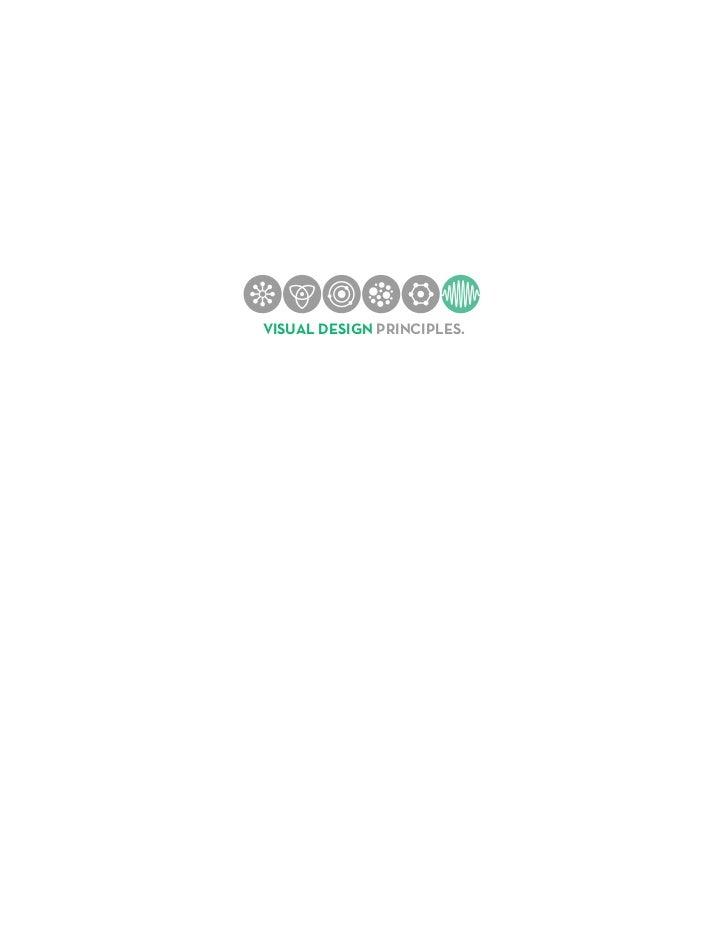 Hasso Plattner Institute of Design   VISUAL DESIGN PRINCIPLES.