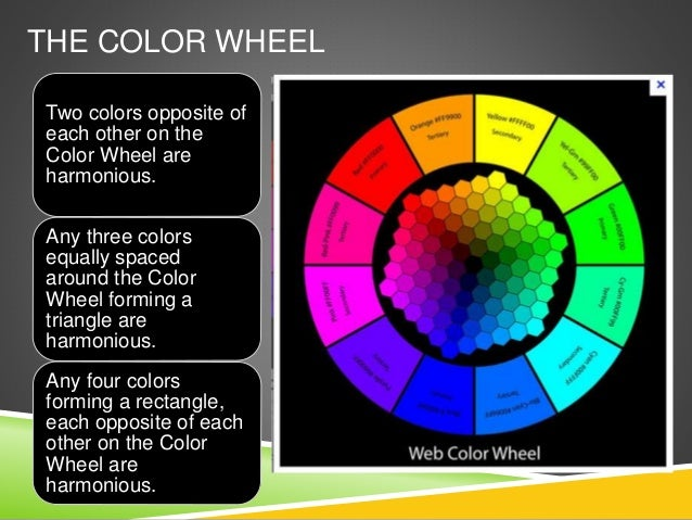 Color Wheel Powerpoint The Color Wheel Two Colors