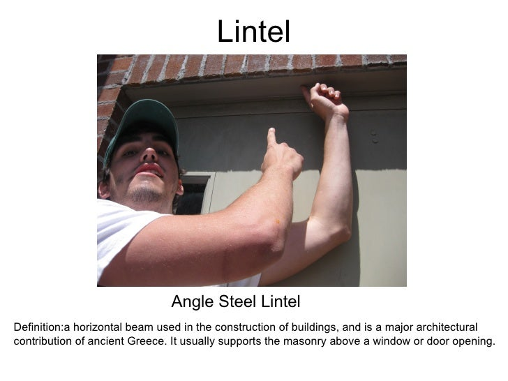 Lintel Angle Steel Lintel Definition:a horizontal beam used in the construction of buildings, and is a major architectural...