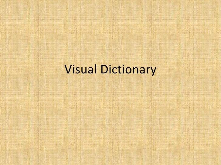 Visual Dictionary Terrazzo