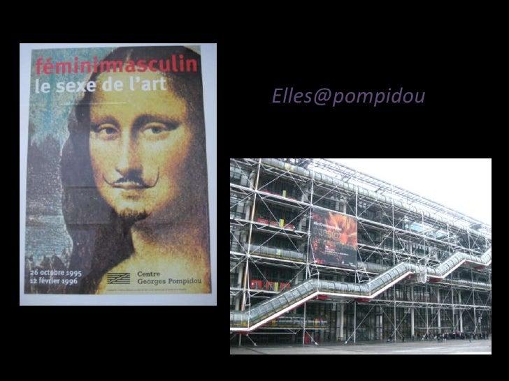 Visual Essay Elle@Pompidou