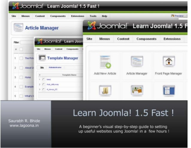 Preface Thank you for deciding to read this book. I have written this book for you to learn Joomla! 1.5 as fast as possibl...